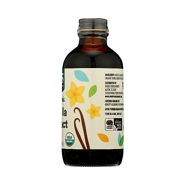 Organic Seasonings, Vanilla Extract, 4 fl oz 9