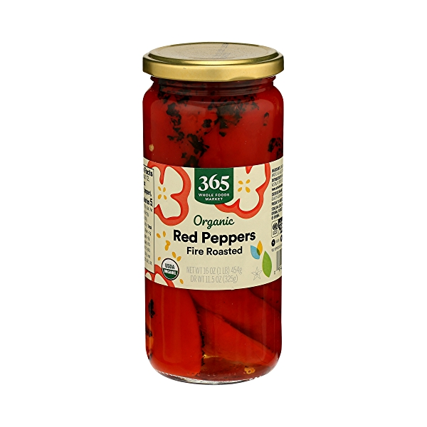 Organic Shelf-Stable Red Peppers, Fire Roasted, 16 oz 2