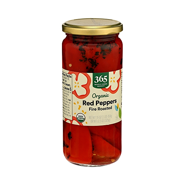 Organic Shelf-Stable Red Peppers, Fire Roasted, 16 oz 3