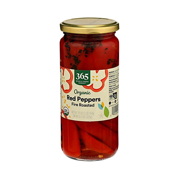 Organic Shelf-Stable Red Peppers, Fire Roasted, 16 oz 4