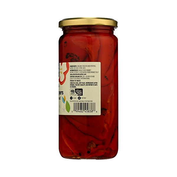 Organic Shelf-Stable Red Peppers, Fire Roasted, 16 oz 8
