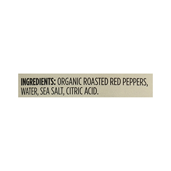 Organic Shelf-Stable Red Peppers, Fire Roasted, 16 oz 12
