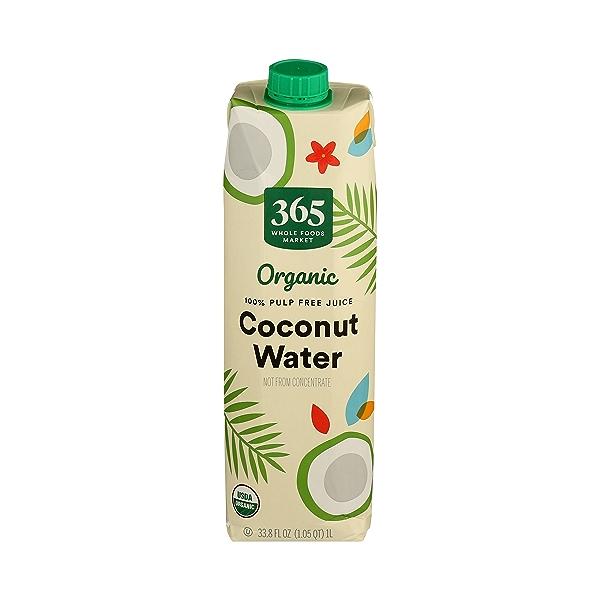 Organic Plant-Based Water, Coconut (Single), 33.8 fl oz 2