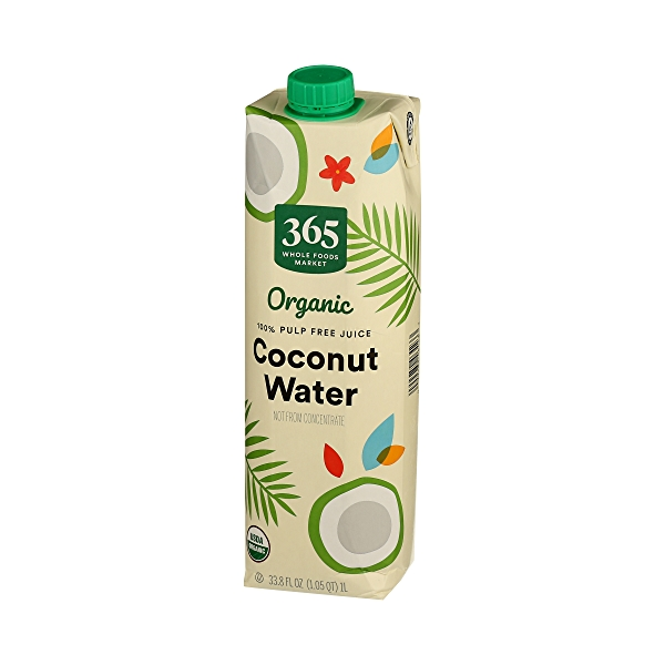 Organic Plant-Based Water, Coconut (Single), 33.8 fl oz 4