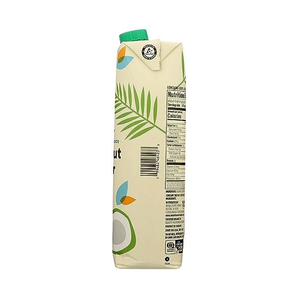 Organic Plant-Based Water, Coconut (Single), 33.8 fl oz 8
