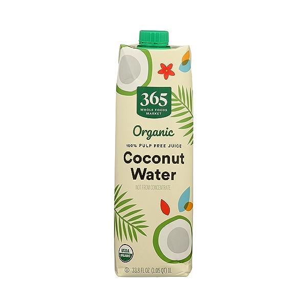 Organic Plant-Based Water, Coconut (Single), 33.8 fl oz 1