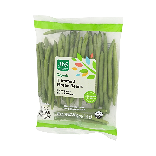 Organic Packaged Vegetables, Green Beans - Trimmed 4