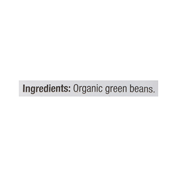 Organic Packaged Vegetables, Green Beans - Trimmed 11