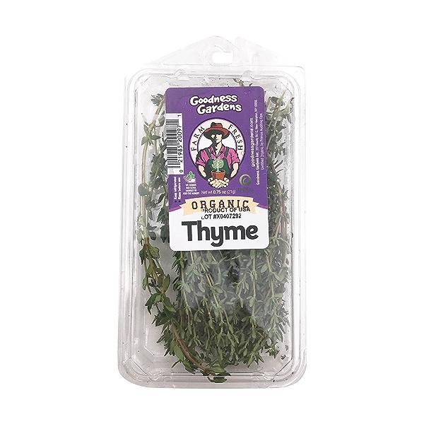 Organic Thyme 1