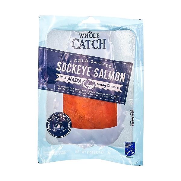 Cold Smoked Sockeye Salmon (8oz) 1