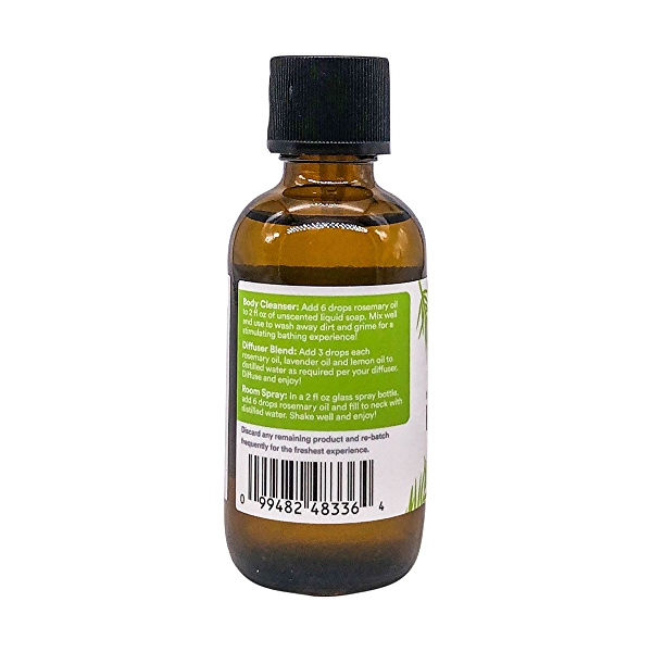Value Size Rosemary Essential Oil, 2 fl oz 3