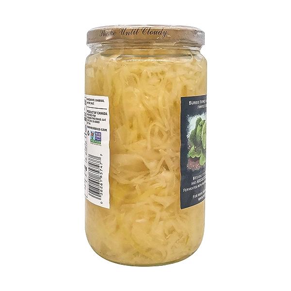 Sauerkraut, 25 fl oz 3