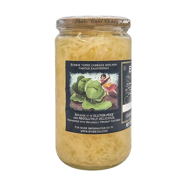 Sauerkraut, 25 fl oz 4