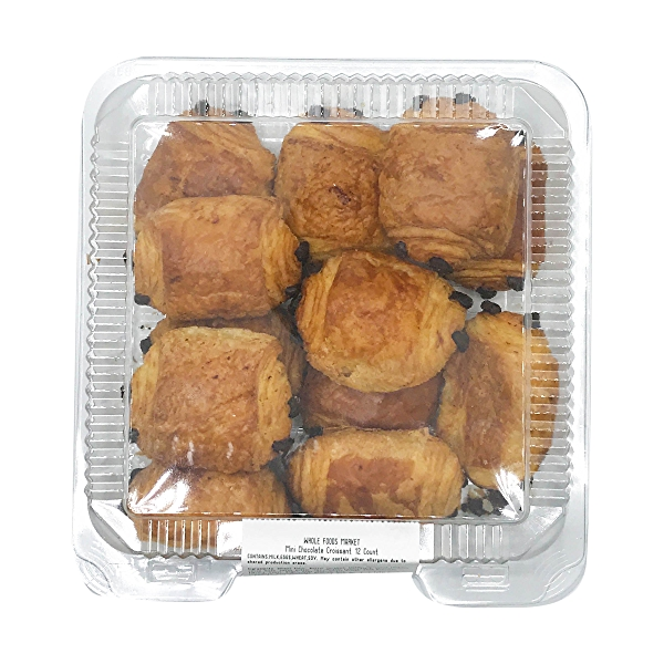 Mini Chocolate Croissant 12 Count, 10 oz 5
