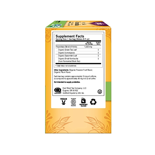 Green Tea Kombucha, 1.12 oz 4