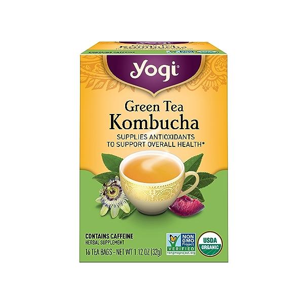 Green Tea Kombucha, 1.12 oz 1