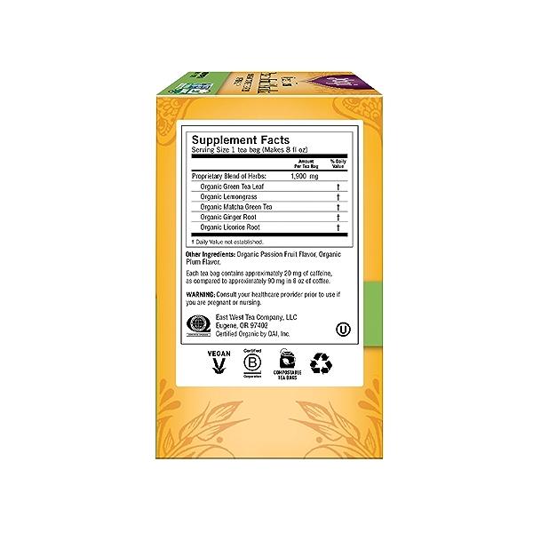 Green Tea Passion Fruit Matcha, 1.12 oz 4