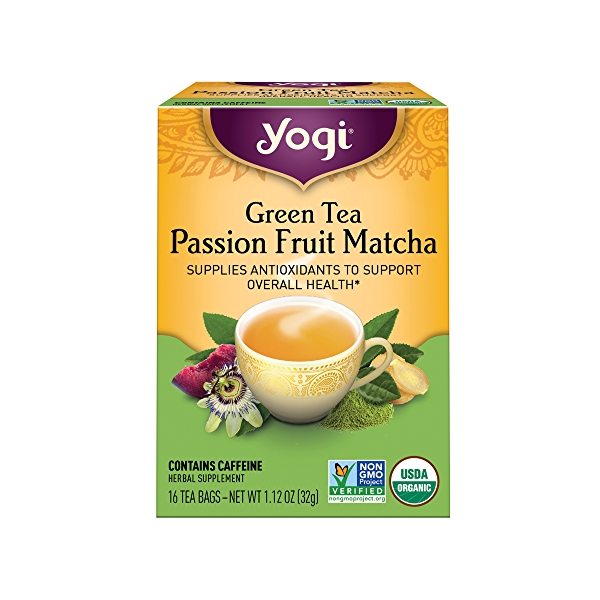 Green Tea Passion Fruit Matcha, 1.12 oz 1