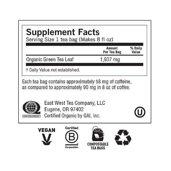 Green Tea Pure Green, 1.09 oz 5