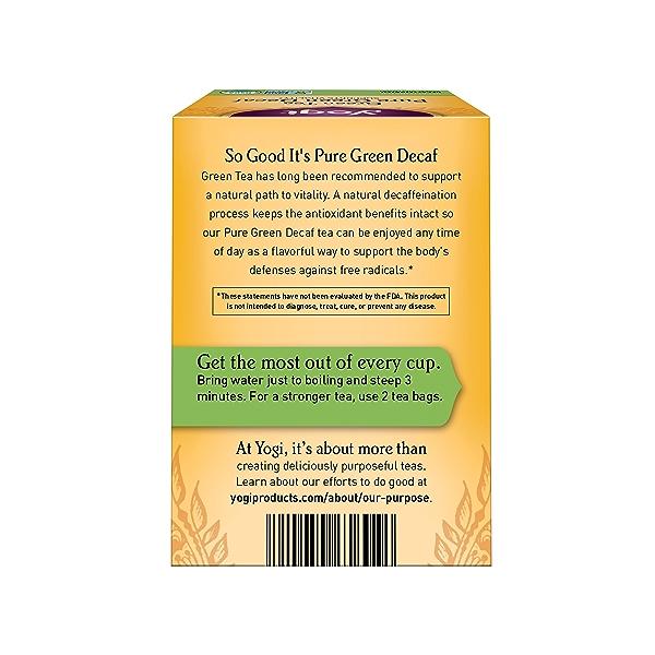 Green Tea Pure Green Decaf, 1.09 oz 2