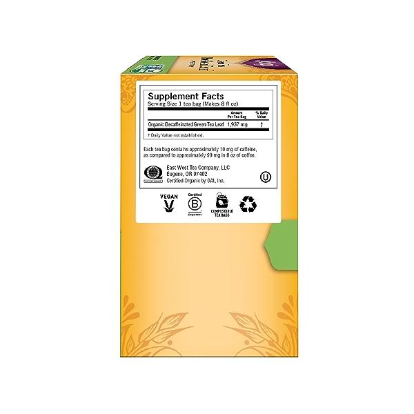 Green Tea Pure Green Decaf, 1.09 oz 4