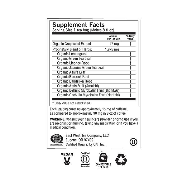 Green Tea Super Antioxidant, 1.12 oz 5