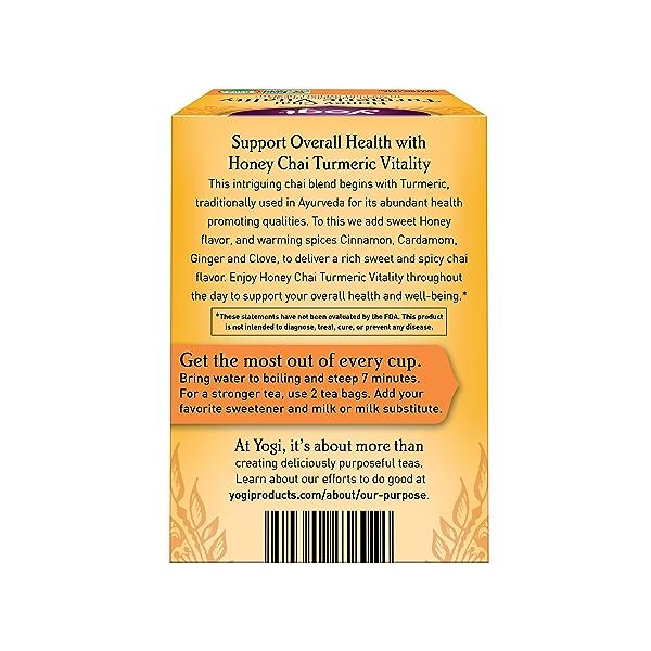Honey Chai Turmeric Vitality, 1.12 oz 2