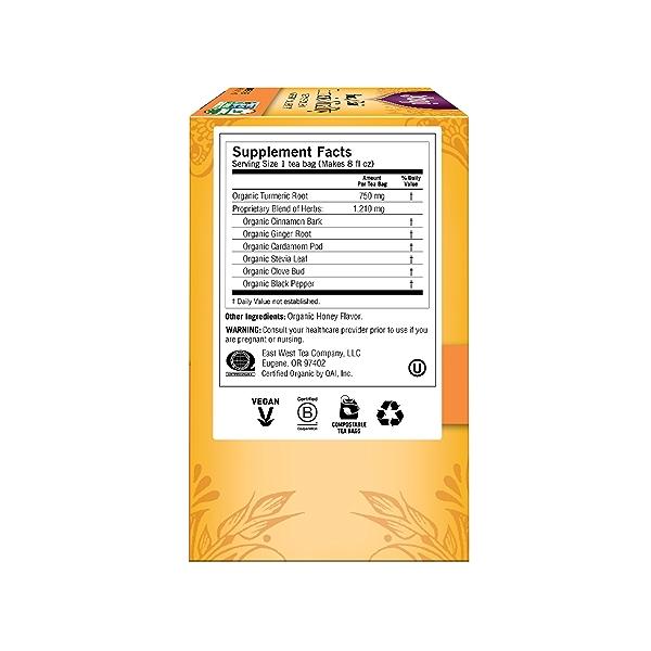 Honey Chai Turmeric Vitality, 1.12 oz 4