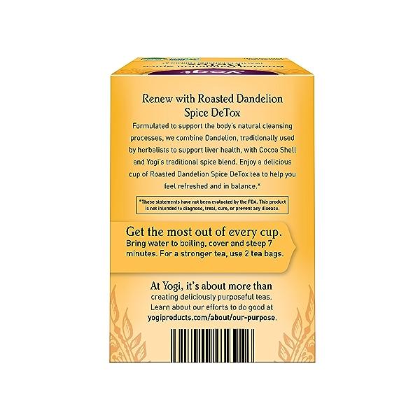 Roasted Dandelion Spice DeTox, 0.85 oz 2