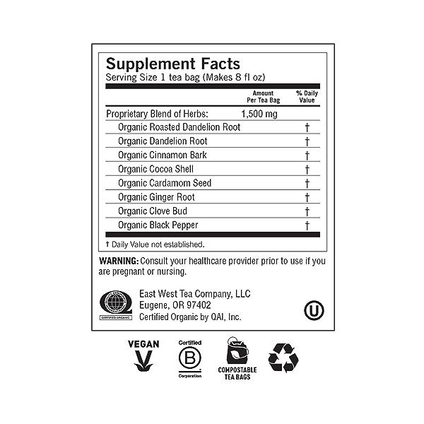 Roasted Dandelion Spice DeTox, 0.85 oz 5