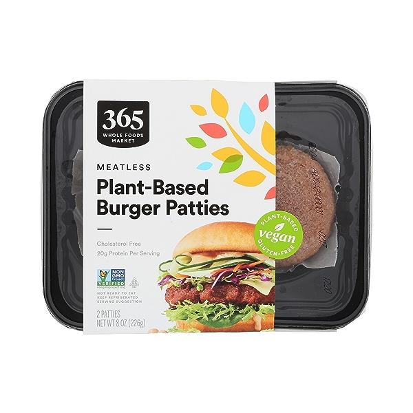 Plant-Based Burger Patties 1