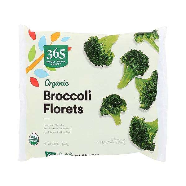 Organic Broccoli Florets, 16 oz 1
