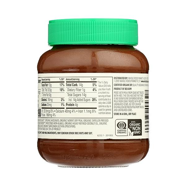 Organic Hazelnut Cocoa Spread, 12.3 oz 4