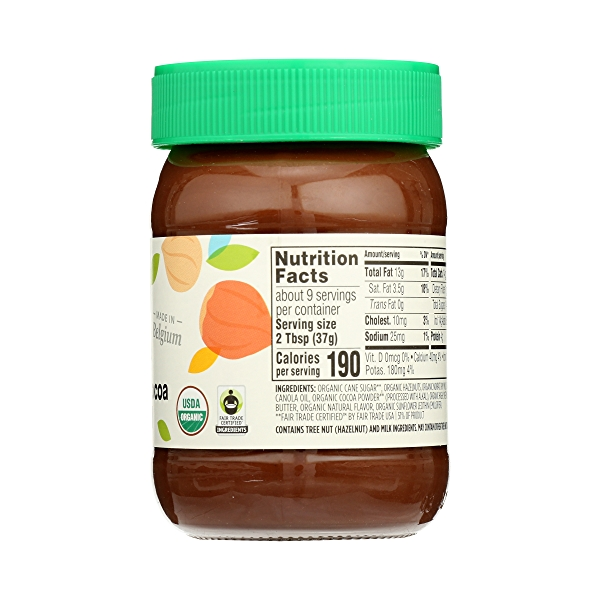 Organic Hazelnut Cocoa Spread, 12.3 oz 5