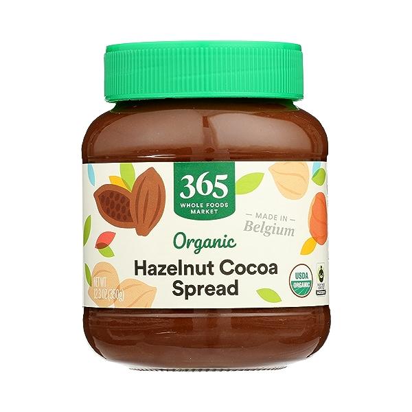 Organic Hazelnut Cocoa Spread, 12.3 oz 1