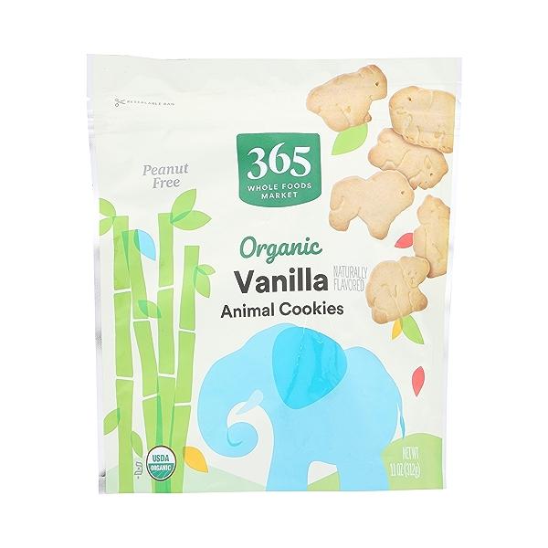 Organic Vanilla Animal Cookie, 11 oz 1