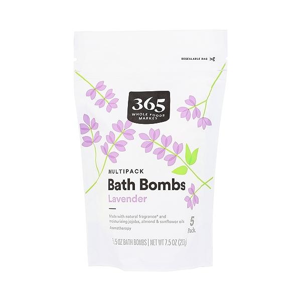 Lavender Bath Bombs Multipack, 7.5 oz 1