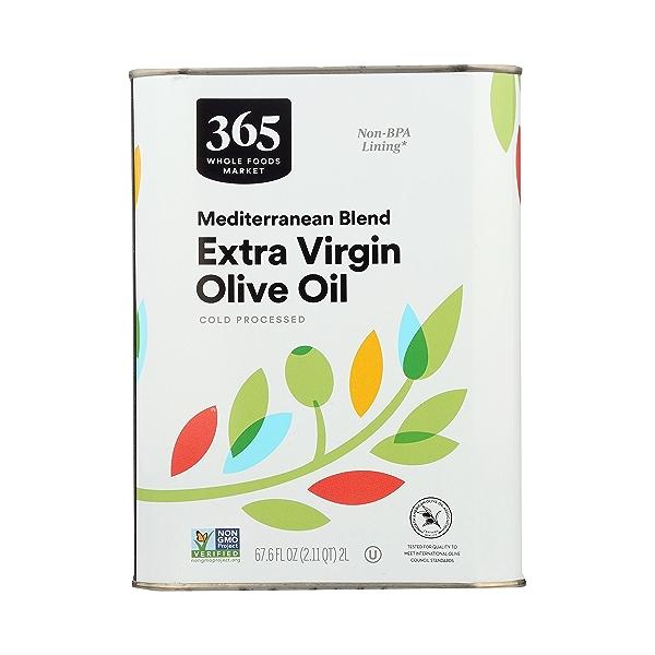 Mediterranean Blend Extra Virgin Olive Oil, 67.6 fl oz 4