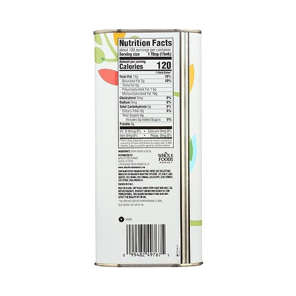 Mediterranean Blend Extra Virgin Olive Oil, 67.6 fl oz 5