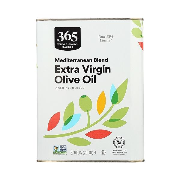 Mediterranean Blend Extra Virgin Olive Oil, 67.6 fl oz 1