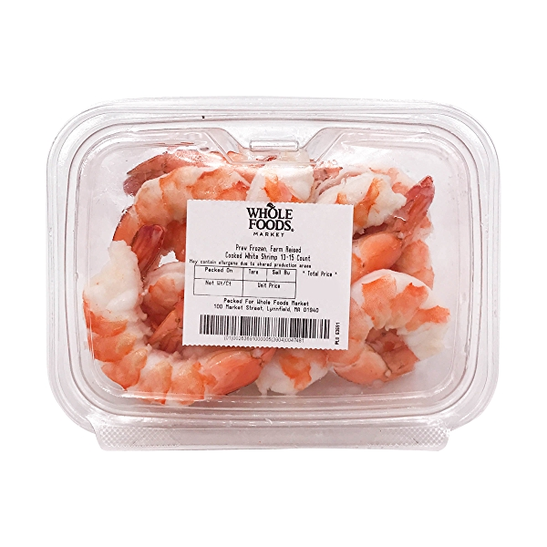 Cooked White Shrimp 13-15 Count 2