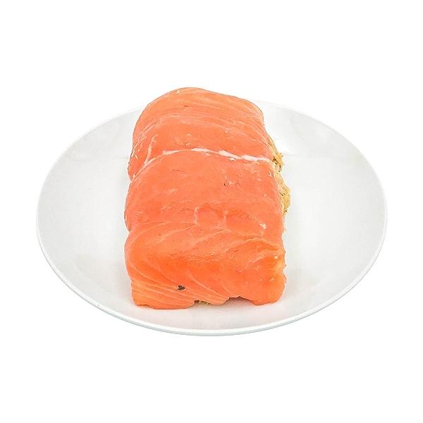 Crabcake Stuffed Atlantic Salmon 1