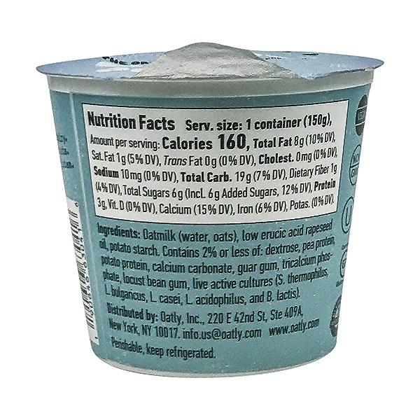 Plain Plant Based Yogurt, 5.3 oz 3