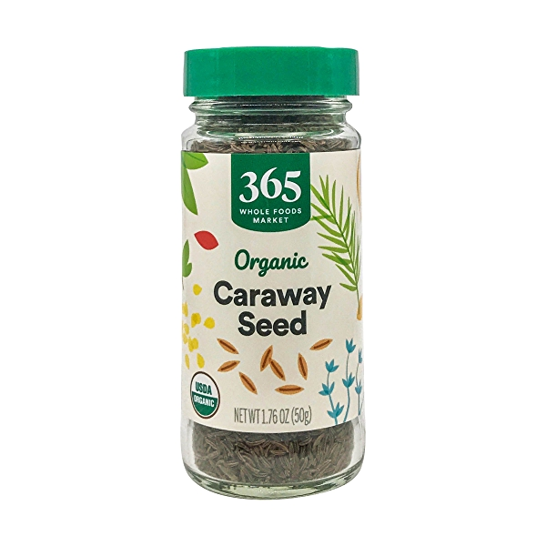 Organic Caraway Seed, 1.76 oz 1