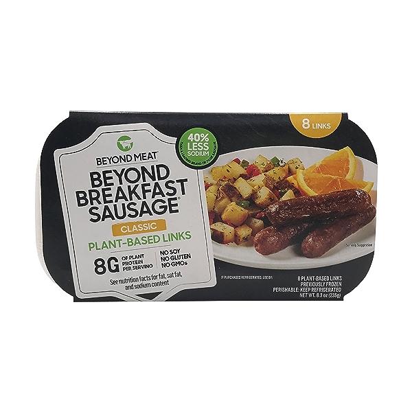 Breakfast Sausage Link Plant Based, 8.3 oz 1
