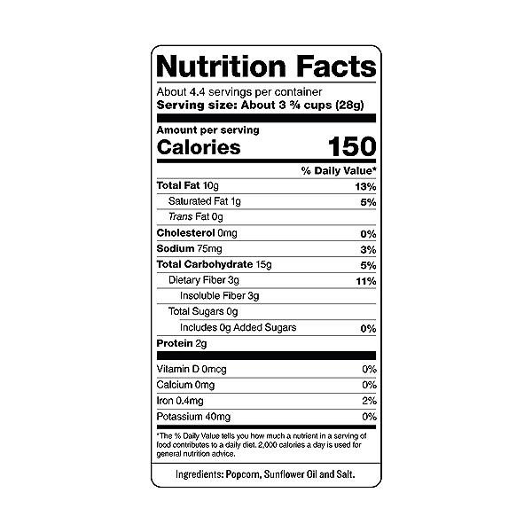 Skinny Pop Popcorn, 4.4 oz 3