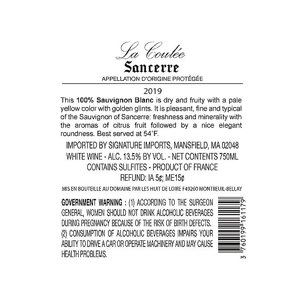 Sancerre, 750 ml 2