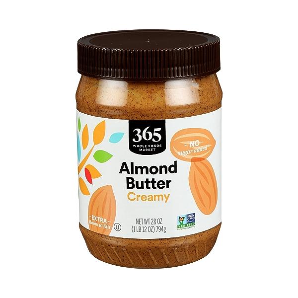 Almond Butter, Creamy, 28 oz 1