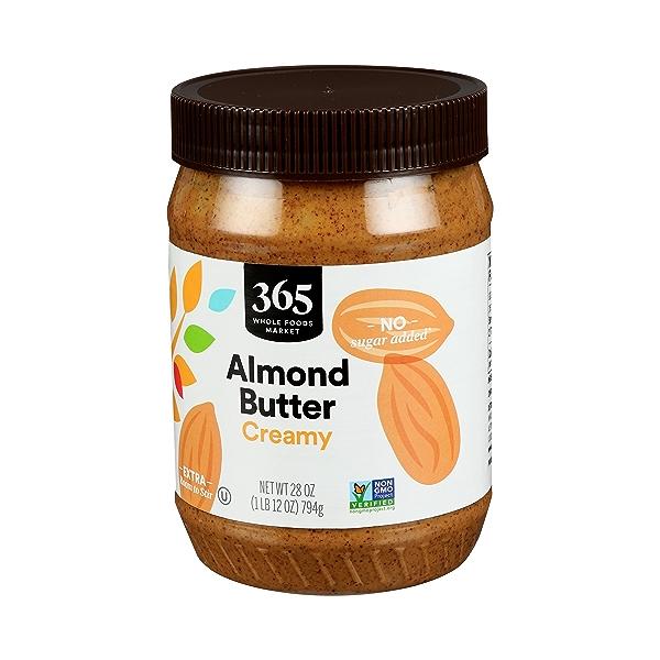 Almond Butter, Creamy, 28 oz 3