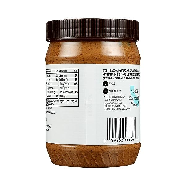 Almond Butter, Creamy, 28 oz 6